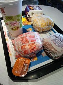 マック マクドナルド マクド ハンバーガーの画像(プリ画像)