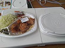 ほっともっと お弁当屋さん 唐揚げ弁当 お肉の画像(プリ画像)