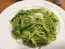 ジェノベーゼ パスタ スパゲッティ 麺類 緑色の画像(ジェノに関連した画像)