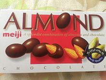 明治 アーモンドチョコレート お菓子の画像(アーモンドに関連した画像)