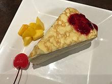 ミルクレープ デザート スイーツ ケーキの画像(ミルクレープに関連した画像)