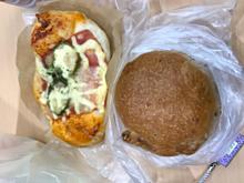 パリクロワッサン パン屋 ピザボックス くるみパンの画像(パン屋に関連した画像)