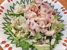 サイゼリヤ 小海老のサラダ プリ画像