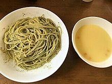 コーンクリームスープ バジルスパゲティの画像(#ジルに関連した画像)