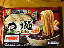 マルちゃん 北の味わい つけ麺 コク醤油味 プリ画像
