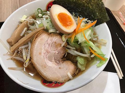 光麺 野菜いっぱい入った醤油ラーメン あっさりの画像(プリ画像)