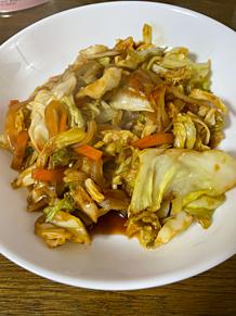 野菜の生姜焼きのたれ炒め プリ画像