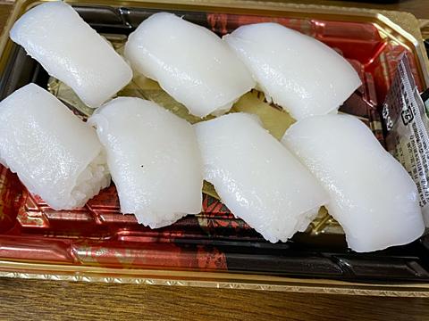 京北スーパー イカ 寿司の画像(プリ画像)