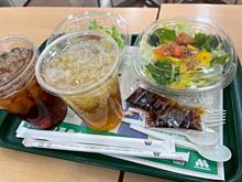 モスバーガー サラダ プリ画像
