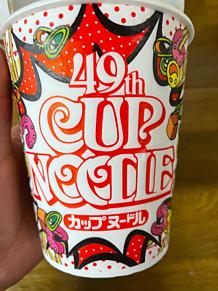 日清カップヌードル 49周年 プリ画像