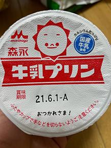 森永 牛乳プリン プリ画像