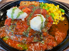 トマトとモッツァレラのイタリアンハンバーグ ガストの画像(イタリアに関連した画像)