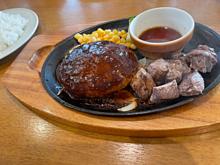 ココス チーズハンバーグ カットステーキの画像(ステーキに関連した画像)