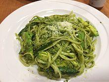 ジェノベーゼ パスタ スパゲティ 緑色 プリ画像