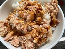 ツナ缶 白米 醤油 プリ画像