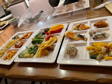 ポルトフィーノ 食べ放題 ヴィーナスフォートの画像(プリ画像)