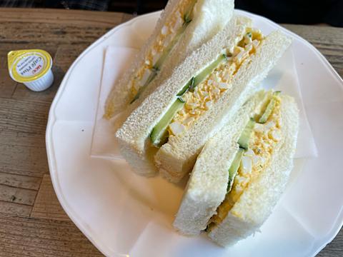 喫茶店とむとむ サンドイッチの画像(プリ画像)