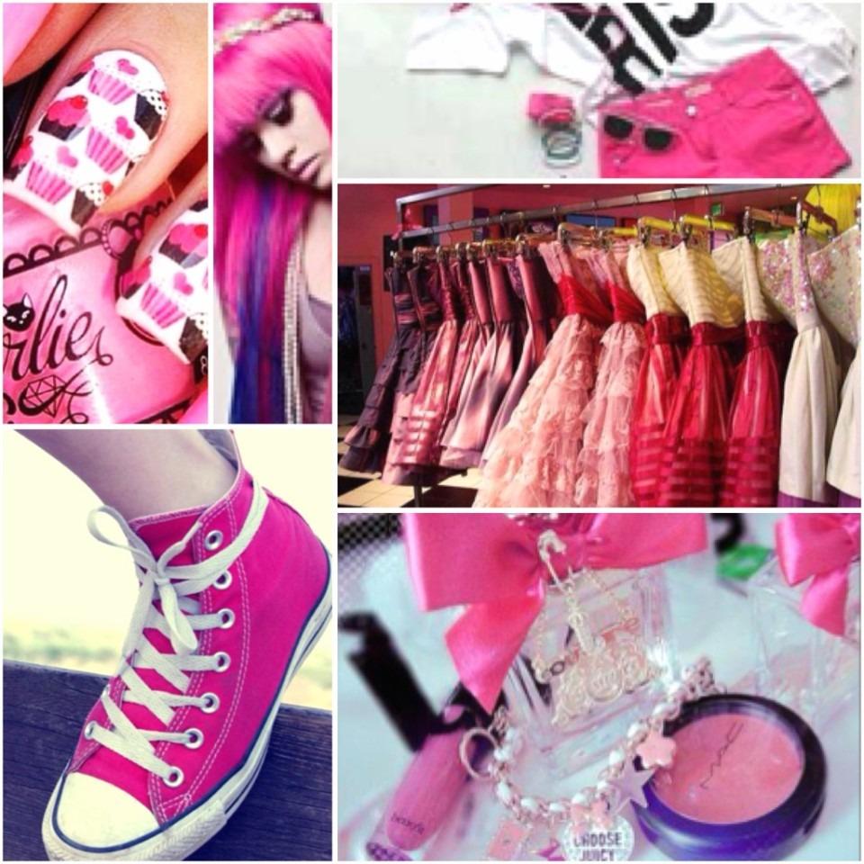 ピンク ファッション