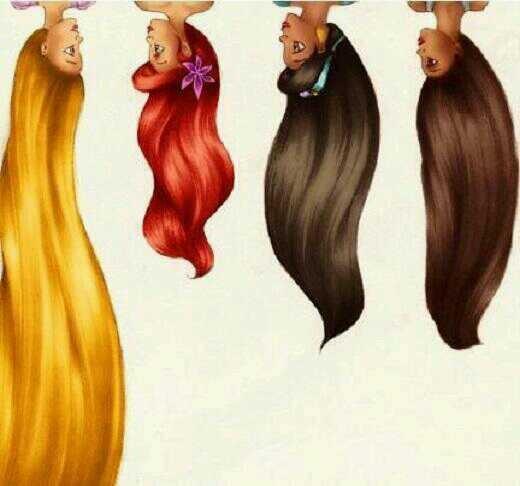 髪の長さ比べ( \u0026gt;  * )の画像 プリ画像