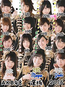 """。""""AKB48 選抜 2016ver。""""の画像(チームBに関連した画像)"""