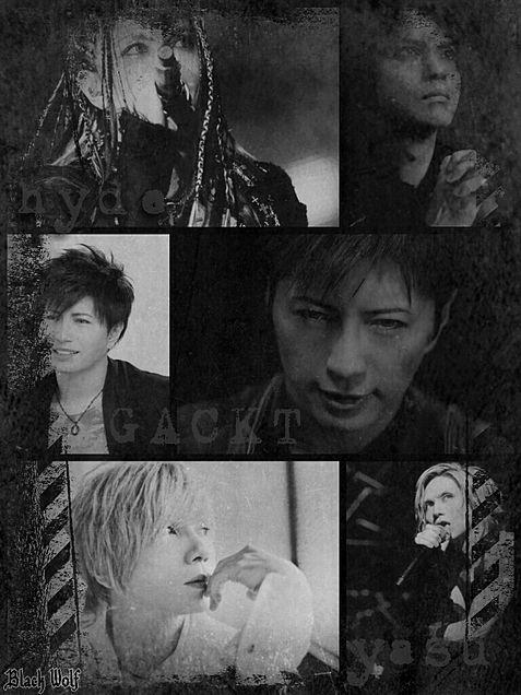 hyde/GACKT/yasuの画像(プリ画像)