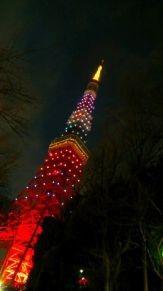 東京タワー 嵐カラー プリ画像