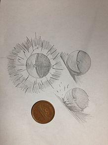 10円玉でモンスターボールの画像(モンスターボールに関連した画像)