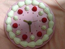 ケーキの時計♡ プリ画像