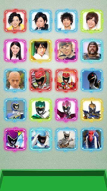 獣電戦隊キョウリュウジャー iphone5 ホーム画面の画像(プリ画像)