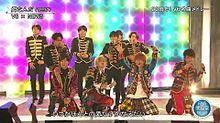 NEWS V6 FNS歌謡祭の画像(プリ画像)