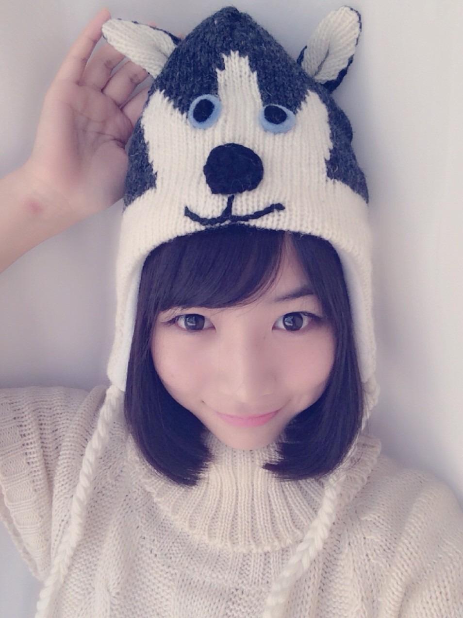 犬フードが可愛い北野日奈子