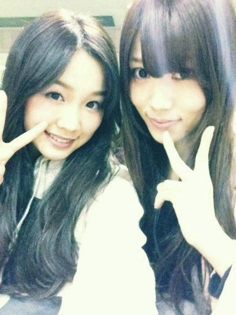 SKE48 出口陽 石田安奈の画像(プリ画像)