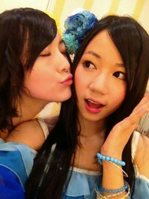 SKE48 高田志織 松井珠理奈の画像 プリ画像