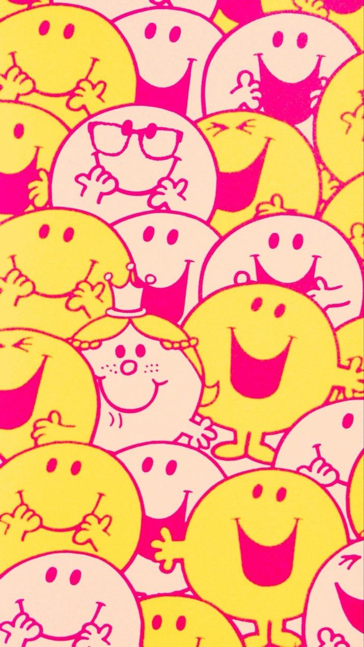 スマイルくんとニコニコちゃんの笑顔の1枚です。