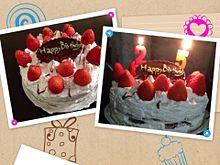 お誕生日ケーキ♡玉の画像(プリ画像)