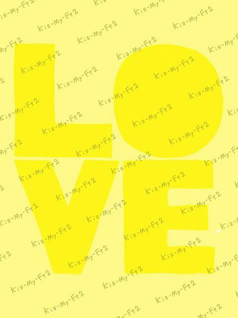 Kis-My-Ft2フィルター(黄)の画像(プリ画像)