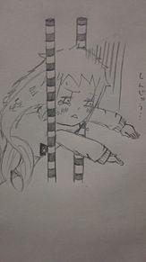 挟まる竹中さん。の画像(ギャグマンガ日和に関連した画像)