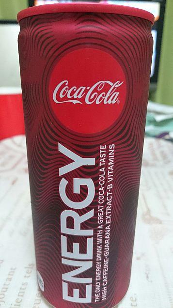 新発売の、コカ・コーラエナジーです(*´∀`)の画像 プリ画像