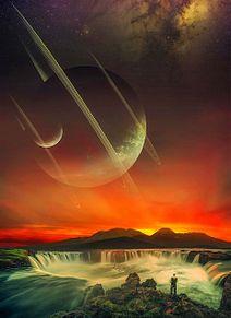 #スペースファンタジー#異世界#壁紙#素材の画像(異世界に関連した画像)