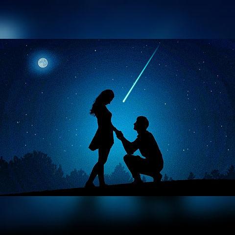 無断マイコレ🈲#星空の下でプロポーズの画像 プリ画像