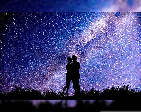無断マイコレ🈲#幻想的#夜空#星空の画像(プリ画像)