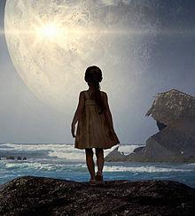 #海と少女#幻想的#幻想ファンタジーの画像(一人ぼっちに関連した画像)