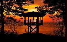 #幻想的#風景#夕焼け#シルエットの画像(夕景に関連した画像)