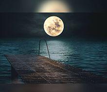 #幻想風景#幻想的#月#満月 プリ画像
