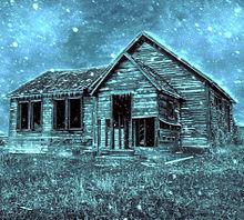 #ホラー#ダーク#廃屋#廃墟#雪の画像(怖いに関連した画像)