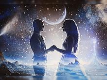 #ラブファンタジー#カップル#恋人の画像(幻想的に関連した画像)