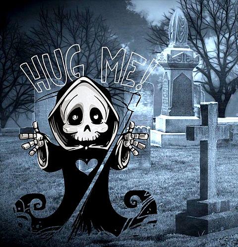 #HUG ME#ハグ ミー#死神#ハートの画像 プリ画像
