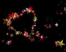 #ハート#星#星でハート#幻想的の画像(幻想的に関連した画像)