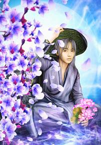 #幻想ファンタジー#幻想的#桜の画像(アジアに関連した画像)
