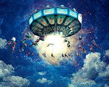 #空想ファンタジー#遊園地#天空の画像(幻想的に関連した画像)